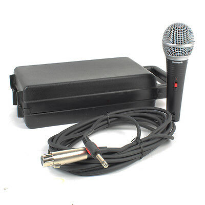Numark WM200 Wired Microphone with Carry Case & Cable