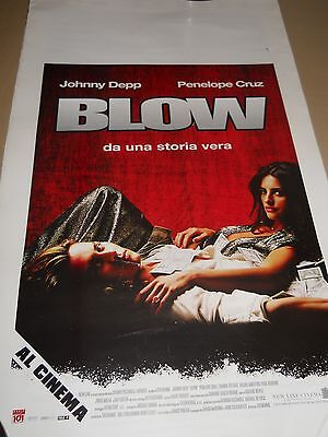 POSTER BLOW JOHNNY DEPP  Poster piccolo cinema