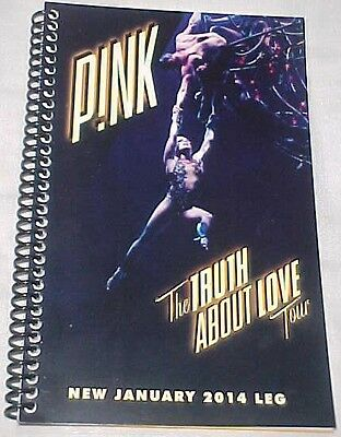 """Pink 2014 """"The Truth About Love"""" Tour Itinerary January 2014 Leg ~Rare***SALE***"""