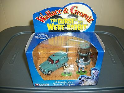 Wallace & Gromit Curse of the Were-Rabbit Corgi Die-Cast Set MIP