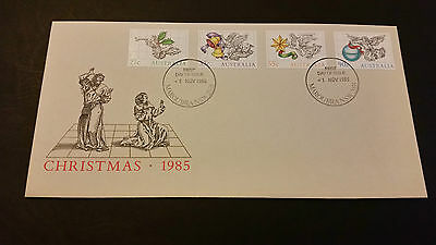 1985 Christmas First day Cover