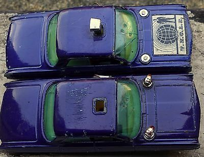 2 CORGI OLDSMOBILE SUPER 88 MAN FROM UNCLE CARS no 497 for repair spare parts