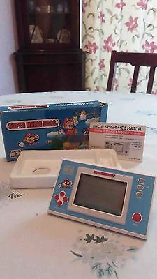 NINTENDO game and watch 1980s  9 different games in total
