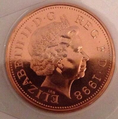 1998 BUNC Two Pence Coin 2p UNC Uncirculated