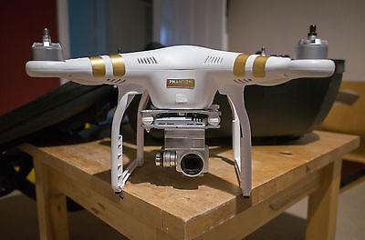 DJI Phantom 3 Professional with backpack case 4K camera