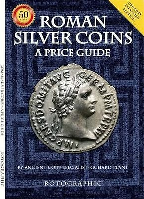 Roman SILVER Coins: A Price Guide New Paperback Book Richard Plant BLUE