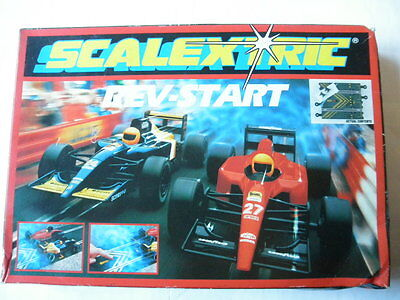 NOS: C.367 REV-START 1:32 Vintage Classic Scalextric Track Section