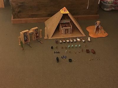 Playmobil Pyramid, Sphinx, Pharaoh's Temple with figures (4242/40/43)