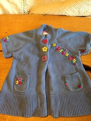 marks and spencer pretty girls cardigan age 4 to 5