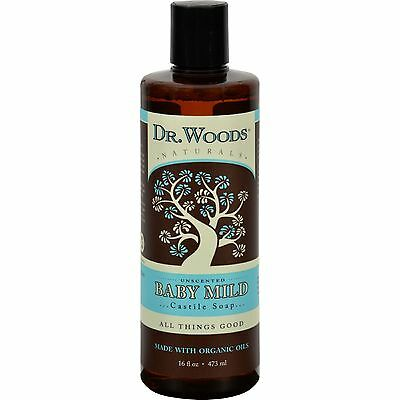 Dr. Woods Naturals Castile Liquid Soap - Baby - 16 fl oz