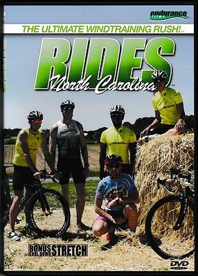 RIDES 4 - NORTH CAROLINA - CYCLING & TRIATHLON TRAINING - Spinning - DVD