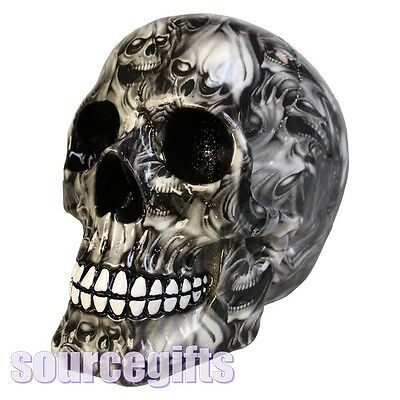 New * Soul * Pop Art  Skull Ornament From Nemesis Now With Free Post D2352
