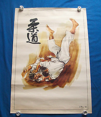 Selection of Judo posters  plus 2  Karate posters