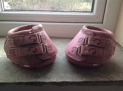 Cavallo Simple Hoof Boots (pair) Size 1 PINK