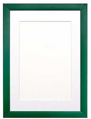 RAINBOW Range Picture Frame Photo Frame Poster Frame  Green With Bespoke Mount
