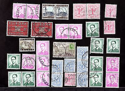 Stamps ~ BELGIUM Used ~ Mixed Unsorted
