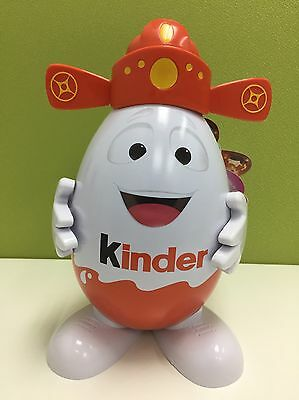"Kinder Surprise 8"" God Of Fortune Eggman Toy w 4 Kinder Joy w Suprise Eggs"