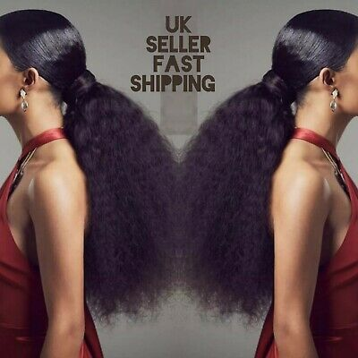 Wrap around synthetic kinky straight ponytail 18 inches colour 1 1b 2 99J 613