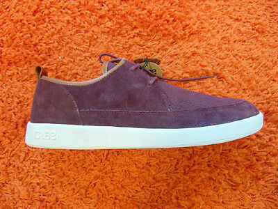 Clae Marlin Oxblood Suede Size UK 10 mens trainers new
