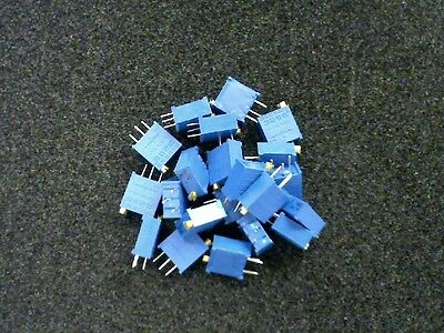 Bourns 3296Y-102 TRIMMER 1K OHM 0.5W PC PIN - LOT OF 50 EACH