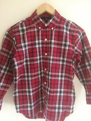 Gap Boys Checked Shirt Age 6 - Very Good Condition - Nearly New