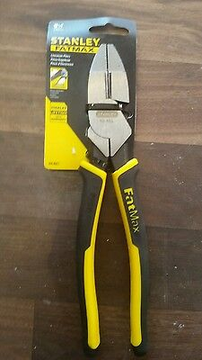 """Stanley Hand Tools 89-865 9.5"""" Linesman's Pliers"""