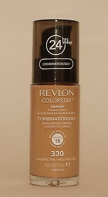 Revlon ColorStay MakeUp 330 Natural Tan Oily Skin PUMPE 30 ml