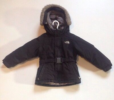 The North Face Girls Black Hyvent Goose Insulated 550 Winter Jacket Size 4T