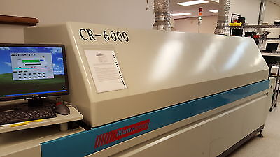 2006 Manncorp CR6000 Reflow Oven
