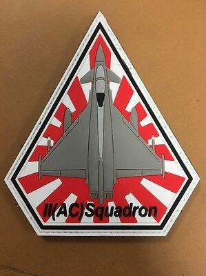 Royal Air Force 2 II Squadron Badge Patch PVC Japan Exercise Typhoon Lossiemouth