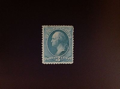USA 1870 3c Pale Green SG149 MH Cat £80