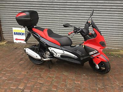 Gilera Nexus 250 SP, 2007, Red, Finance, Delivery, Maxi scooter