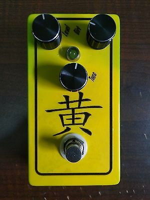 SAE Effects Jaune - sweet sustaining lead distortion drive fuzz guitar pedal
