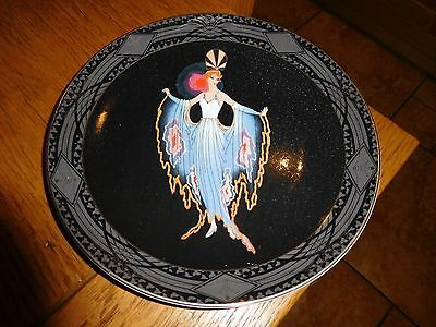 Royal Doulton House Of Erte 'twilight' Limited Edition Plate No:ma1412