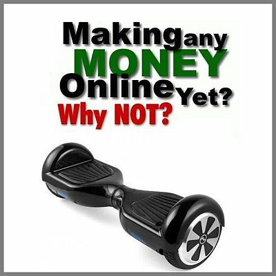 HOVERBOARD Website Earn £171.84 A SALE FREE Domain FREE Hosting FREE Traffic