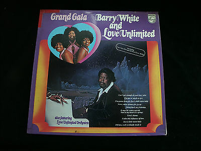Auflösung :  BARRY WHITE and Love Unlimited    *  A 990  Vinyl-nMint