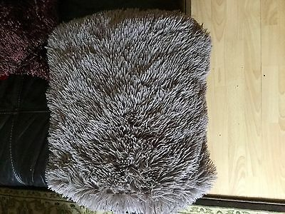Catherine Lansfield faux fur cushion cover NEW