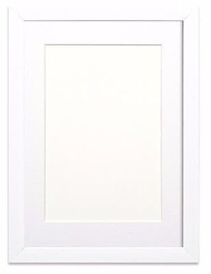 Rainbow Range Picture Frame Photo Frame Poster Frame  White With Bespoke Mount