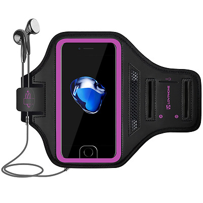 iPhone 7 Armband - LOVPHONE Sport Running Exercise Gym Sportband Case for Apple