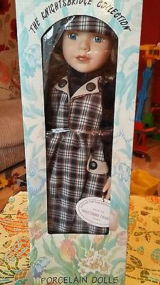 Collectable Porcelain Doll. The Knightsbridge Collection. Cara. Boxed.