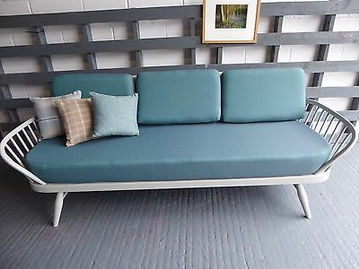 Cushions & Covers Only. Ercol Studio Couch/Daybed. Clearance Top Quality Marine1
