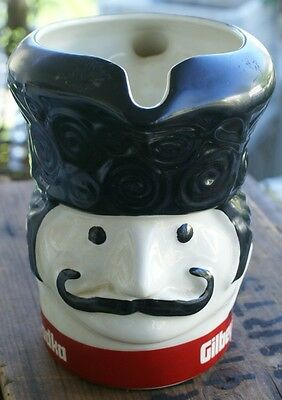 Gilbey's Vodka Ceramic Bar Pitcher Collectible Russian Soldier