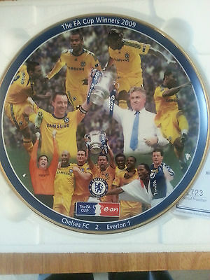 A Commemorative Plate for the 2009 FA CUP Winners