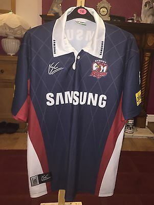 Australian Sidney roosters rugby league shirt size xl