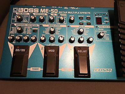 Boss ME-50 Guitar Multiple Effects Pedal
