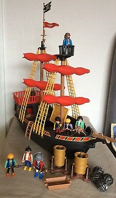 Playmobil Pirate Ship, 6 Pirates and Accessories 5736