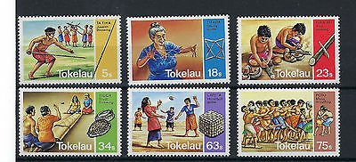 Tokelau Set Of Six Sport And Games Stamps See Scan  Post Free To The Uk.