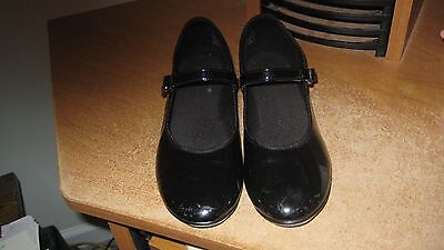 girls youth size 1 tap dance shoes