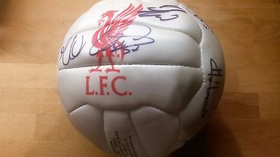 Liverpool FC signed football 2016-New