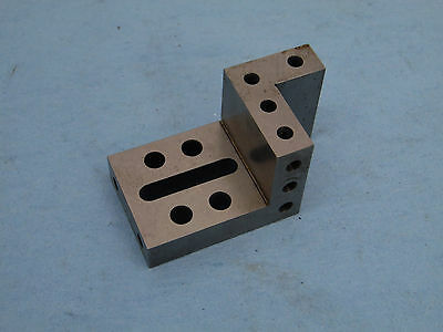 COMPOUND ANGLE PLATE ANGLE MACHINIST PRECISE  GRINDER USED 3x1.5x1.5